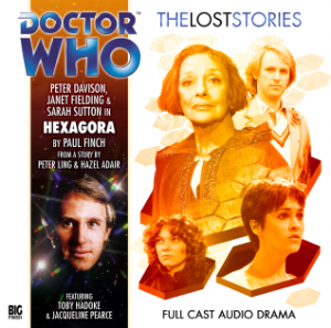 Hexagora  signed  by Peter Davison Doctor Who Big Finish CD